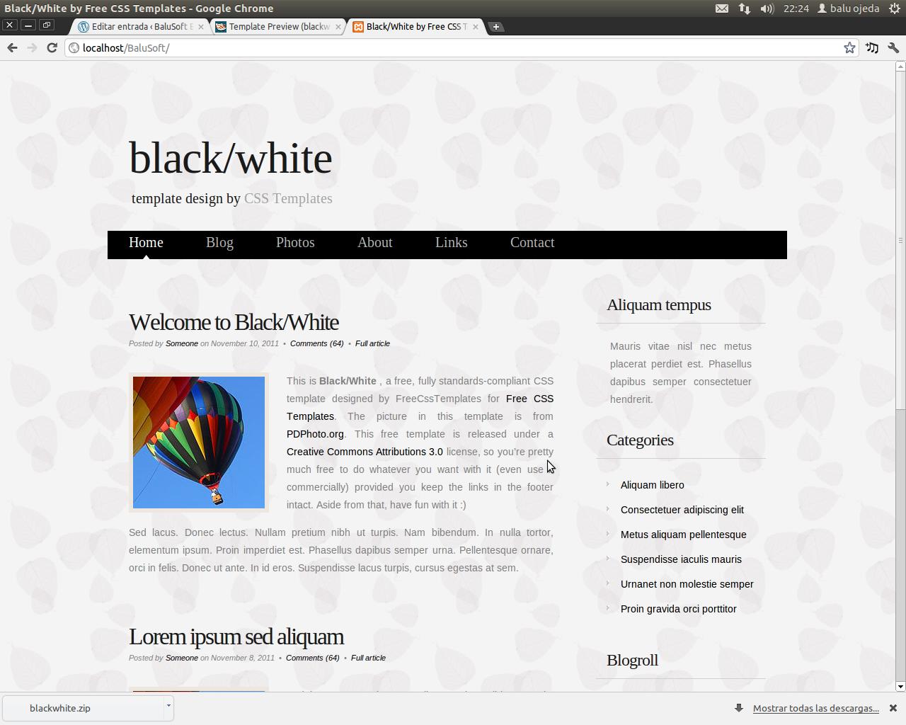 Creando una aplicación web con PHP (Parte 1) – Balusoft Blog