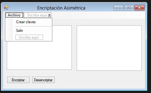 encriptacion llaves: